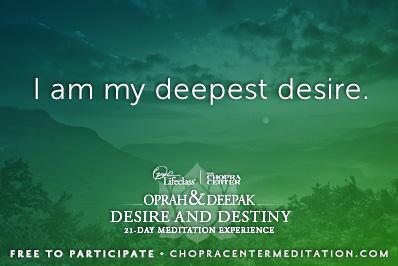 chopra meditation